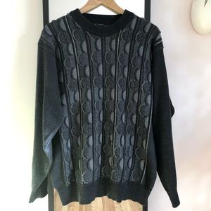 Vintage COOGI-style crewneck sweater Notorious BIG